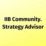 IIB Community. Strategy Advisor: Алла Ідобаєва